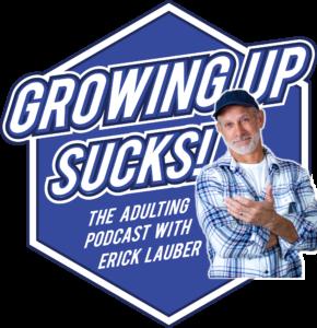 Growing Up Sucks logo